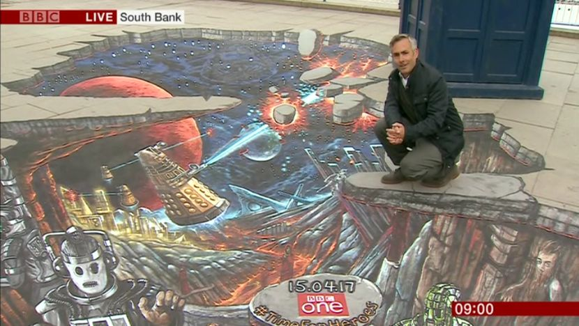 BBC Breakfast: Doctor Who report (12 Apr 2017) (Credit: BBC)